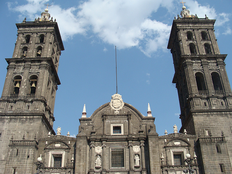 The cathedral of Puebla