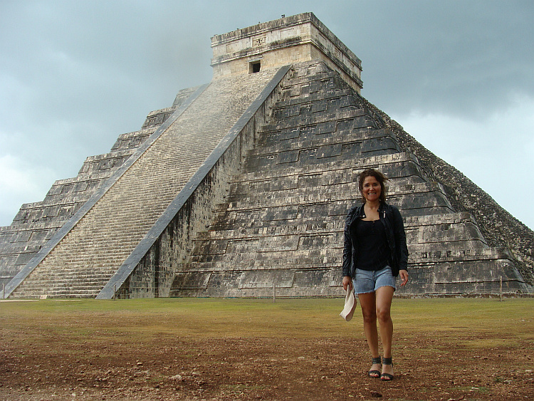 Mayatempel in Chichen Itza