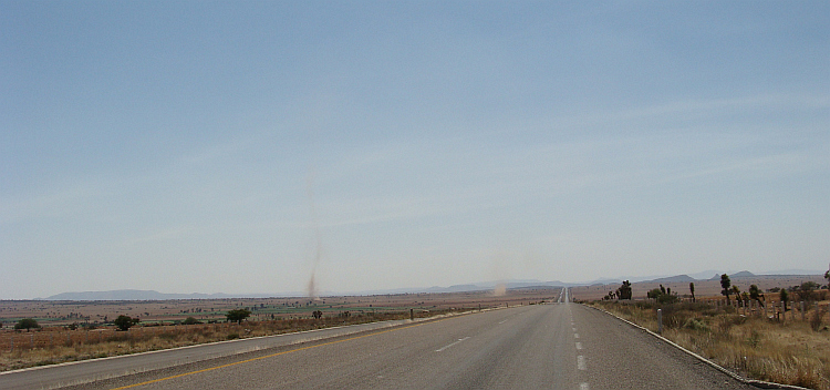 Dust Devils in Central Mexico