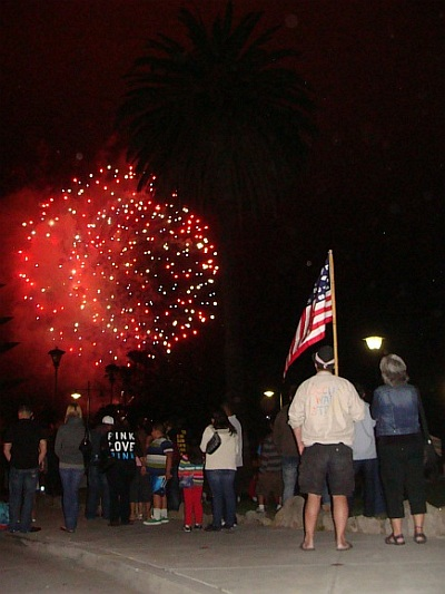 4th of July in Santa Barbara