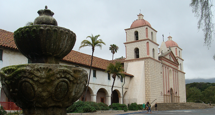 The missionary church of Santa Barbara