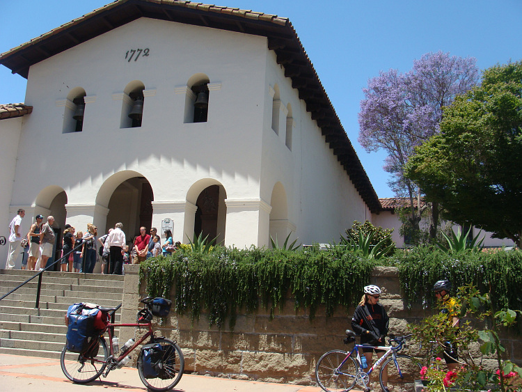 The missionary church of San Luis Obispo