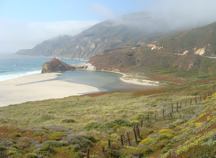 Landscape in Big Sur
