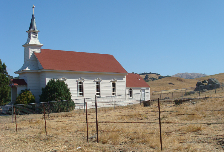 Church near Petaluma