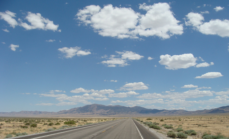 Landscape in Nevada