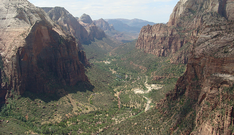 View over Zion Canyon, Zion National Park