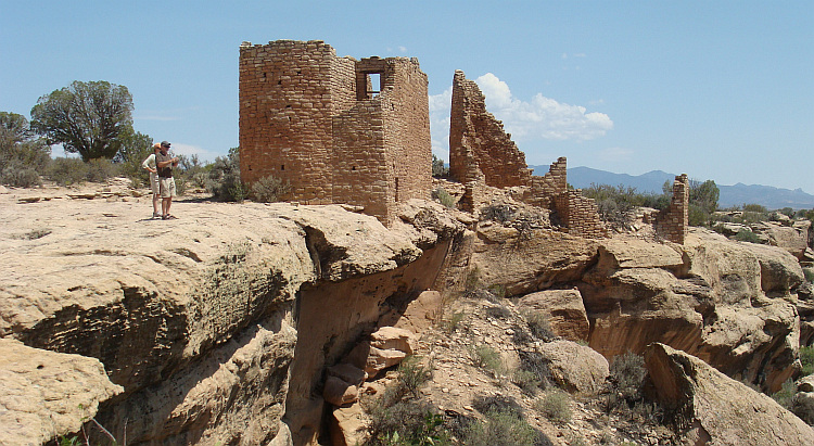 Ancestral pueblo in Hovenweep National Monument