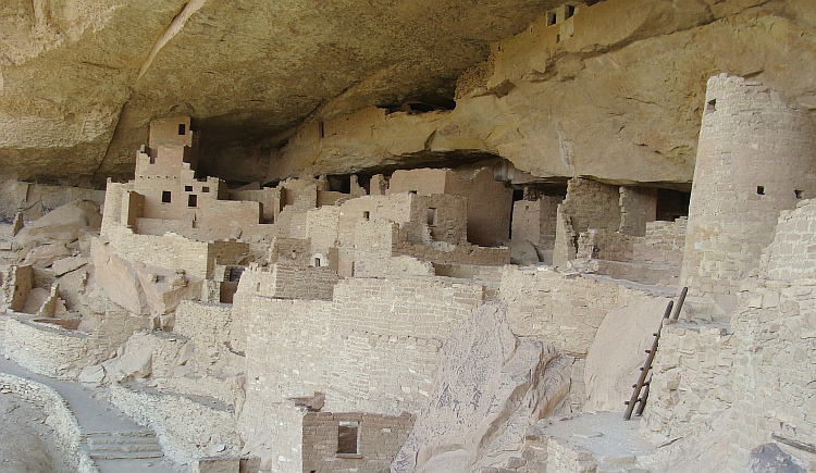 Ancestral Pueblo in Mesa Verde National Park