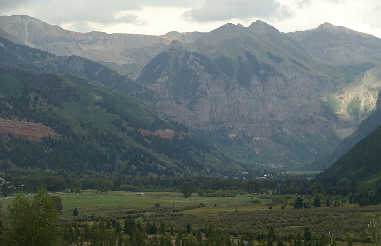 The valley of Telluride