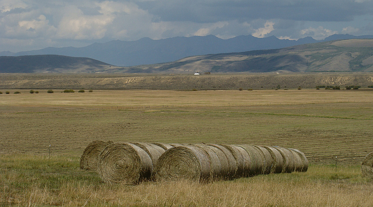 Landscape near Rand, Colorado