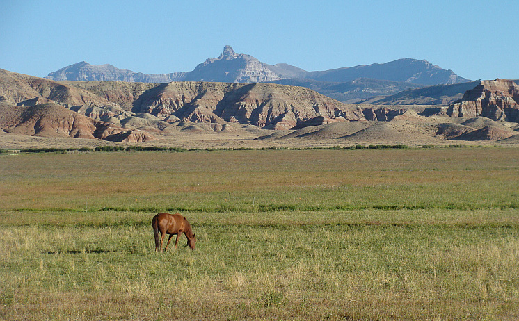 Landscape near Dubois, Wyoming