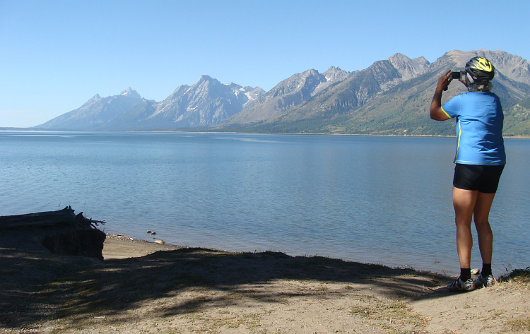 Cynthia in Grand Teton National Park
