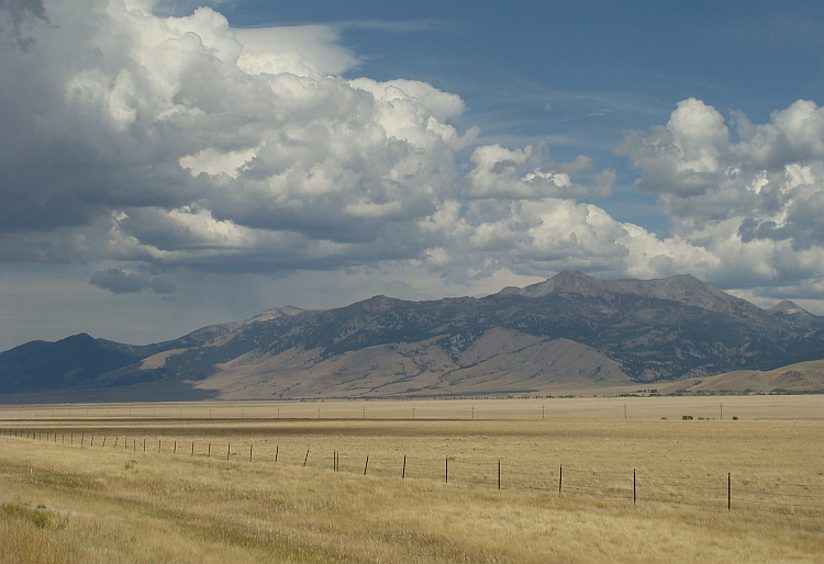 'Big Sky' landscape in Montana
