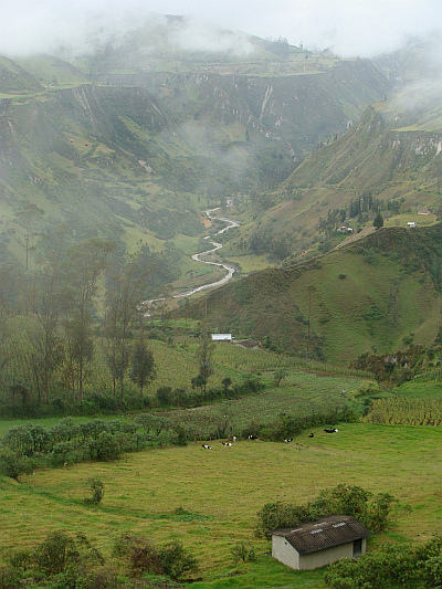 The Quilotoa Loop between Sigchos and Zumbahua