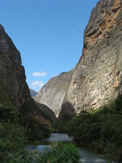 Between Bagua Grande and Chachapoyas