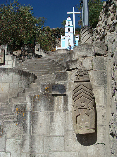 The Santa Apolonia in Cajamarca