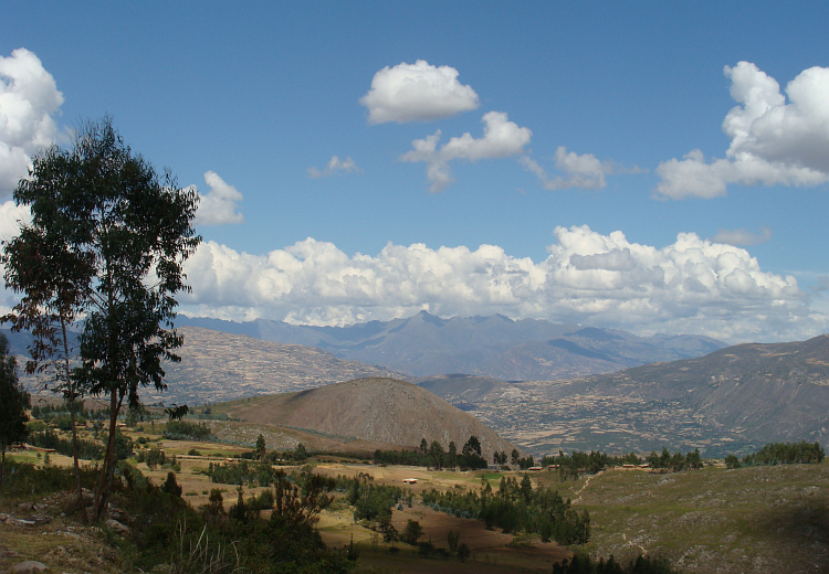 Landscape between Cajamarca and Cajabamba