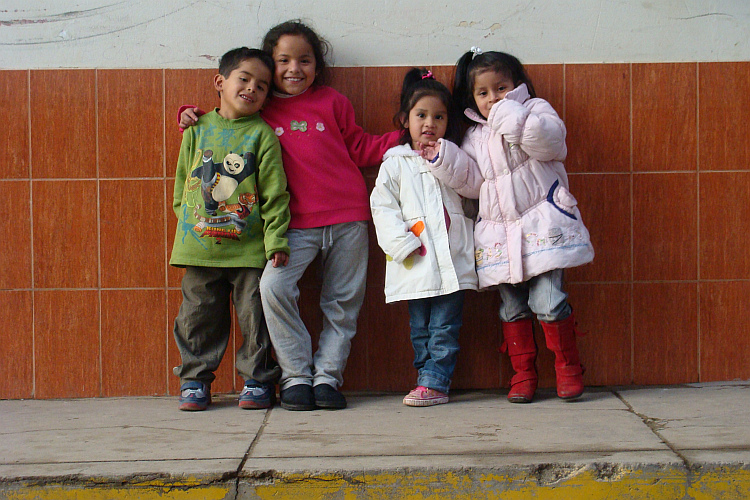Children in Huamachuco