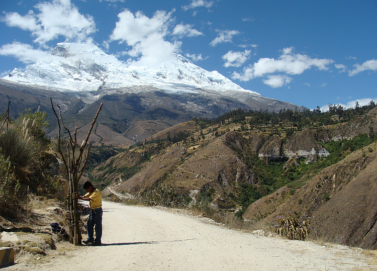The Huascarán in de Cordillera Blanca
