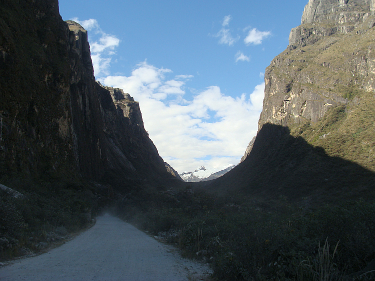 On the way to the Lagunas LLanganuco