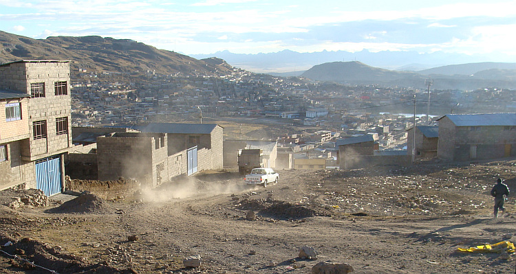 Cerro de Pasco, the highest city in the world?
