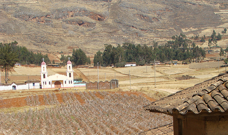 The rural landscape of Central Peru