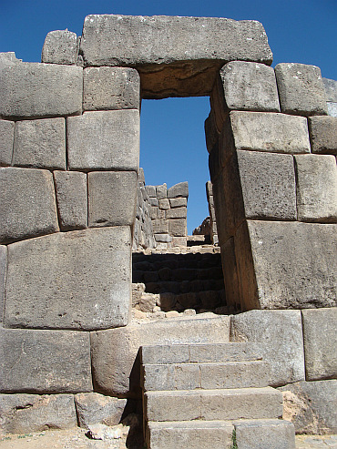 The Inca ruins of Sacsayhuaman