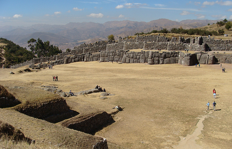 The Inca ruins of Sacsayhuamán