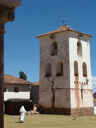 The church of Chinchero