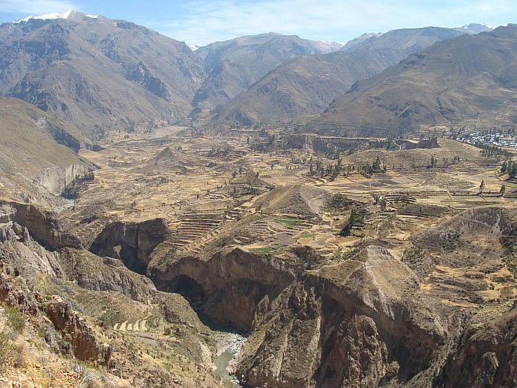 Terraces of the Colca valley