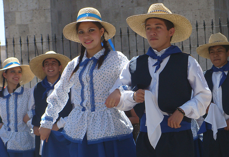 Traditional dance in Arequipa