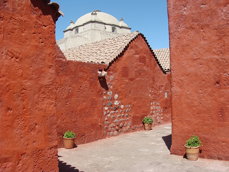 The Monastery of Santa Catalina in Arequipa