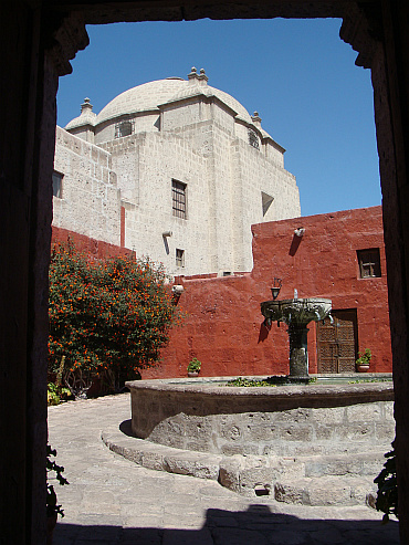 The Santa Catalina Monastery in Arequipa