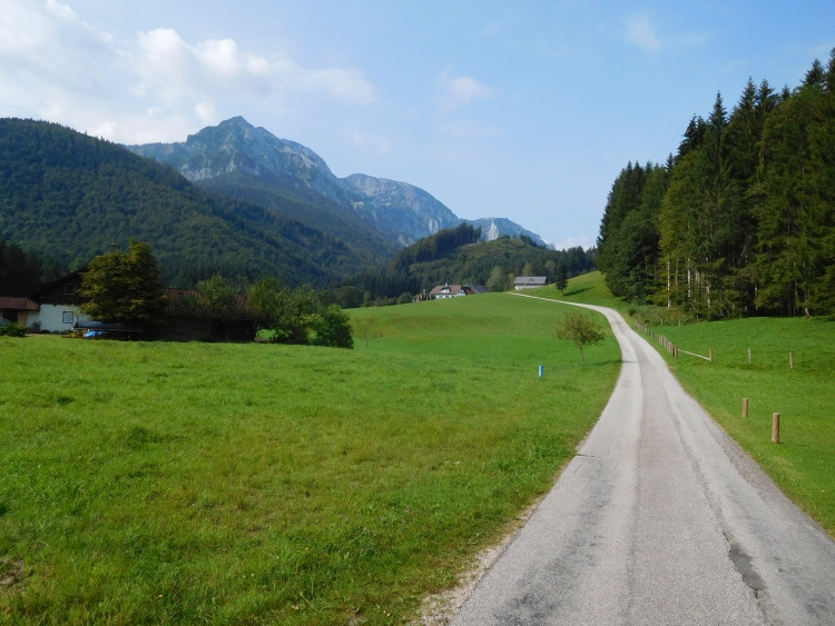 Between Neukirchen and Steinbach am Attersee