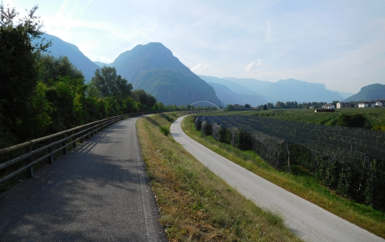 On the way to Trento