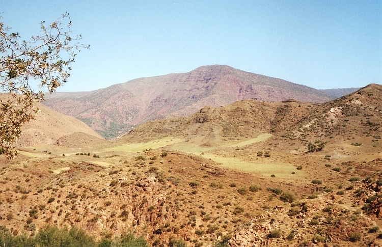 Red mountains, High Atlas