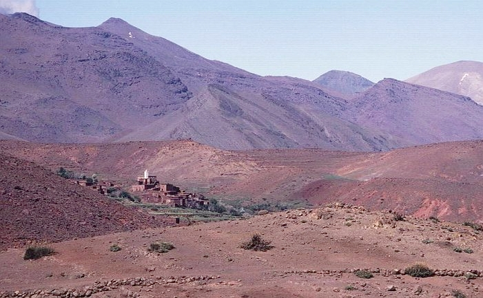 Village in the Mountains, High Atlas