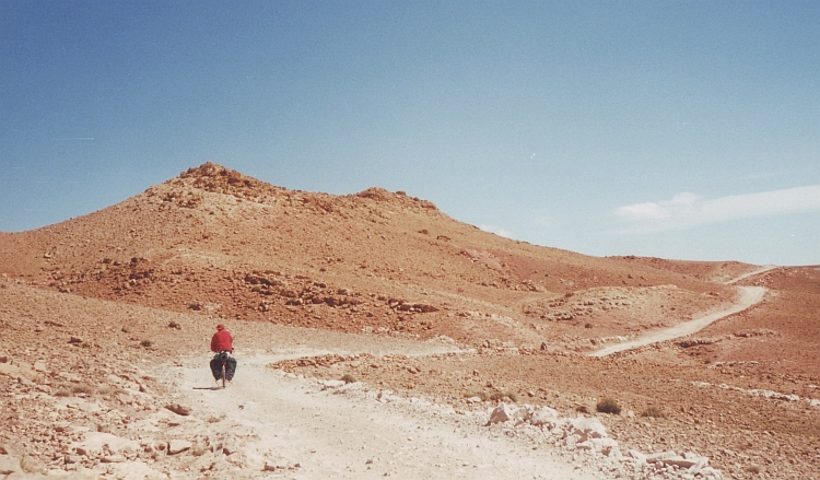 Willem on the way to Ouarzazate