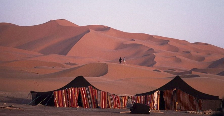 Our goal. The dunes of Merzouga. Picture by Marco Duiker