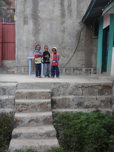 Children in Wegel Tena