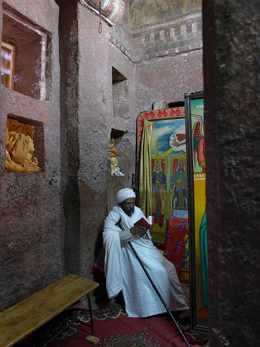 Priest of a church in Lalibela