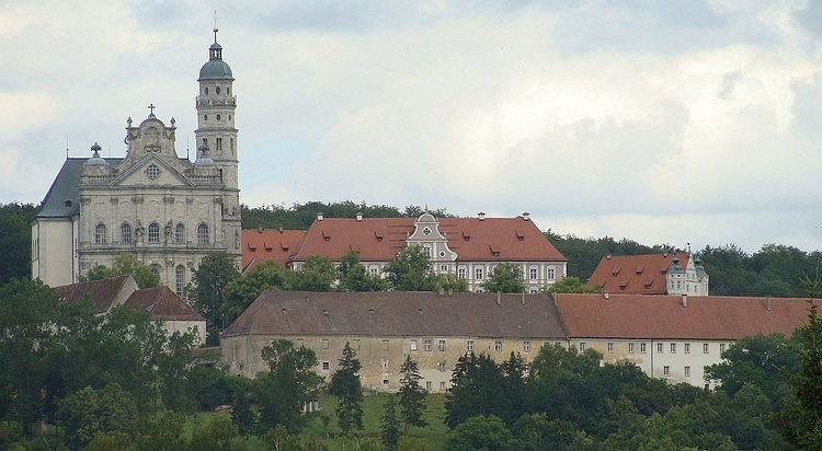 The monastery of Neeresheim