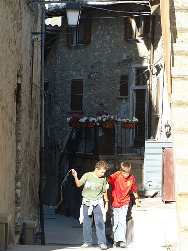 Children in Castellucio