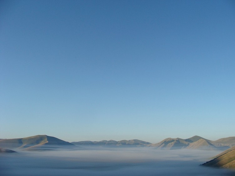 View from Castelluccio, Umbria