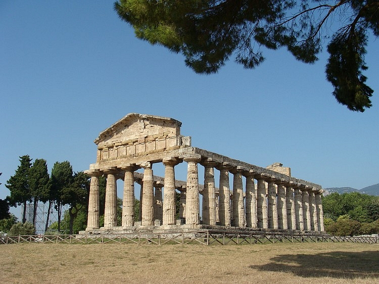 The Greek Temple of Cerere, Paestum