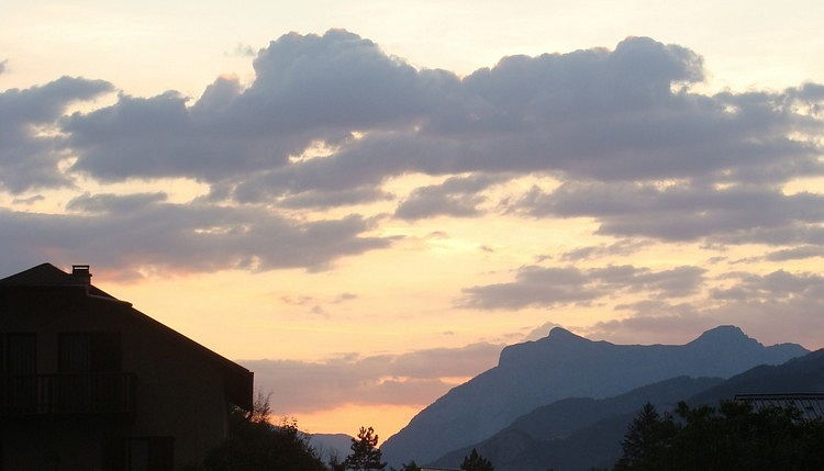 Sundown in Barcelonnette