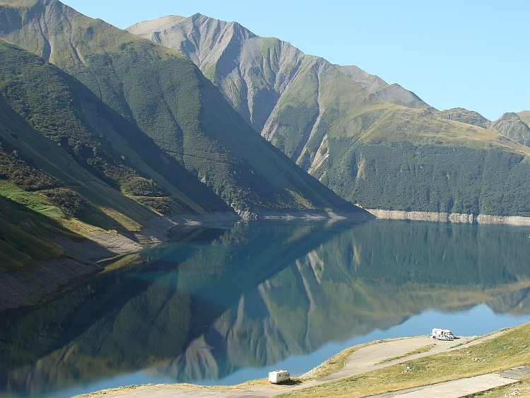 Lake towards the Col du Glandon