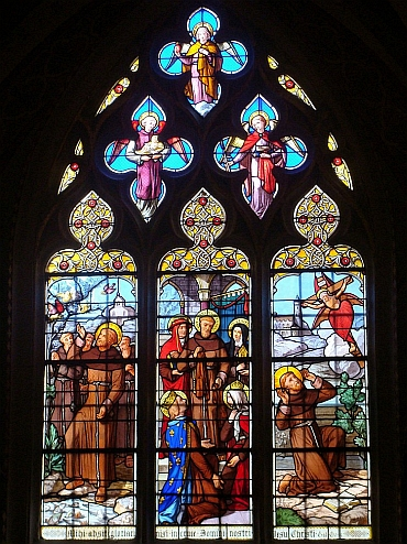 Stained Glass, Cathedral of Dôle