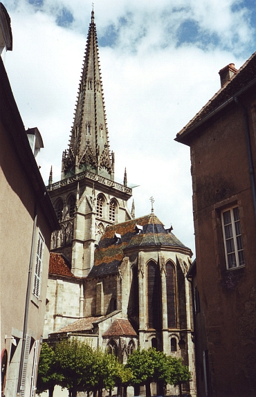 The Cathedral of Autun, Bourgogne