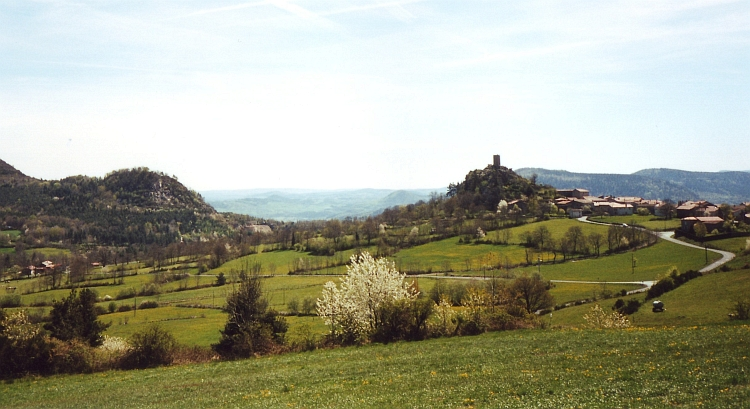 Landscape, Massif Central